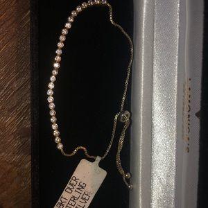 Jewelry - NWT Pull chain tennis bracelet
